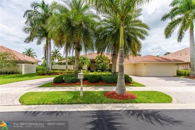 Weston Single Family Home For Sale: 540 Coconut Cir