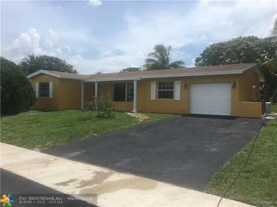 Lauderdale Lakes Single Family Home Backup Contract-Call LA: 2346 NW 34th Ter