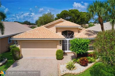 Delray Beach Single Family Home For Sale: 13811 Via Nadina