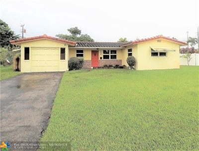 Wilton Manors Single Family Home For Sale: 2648 NW 9th Ln