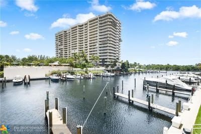 Boca Raton Condo/Townhouse For Sale: 4201 N Ocean Blvd #407