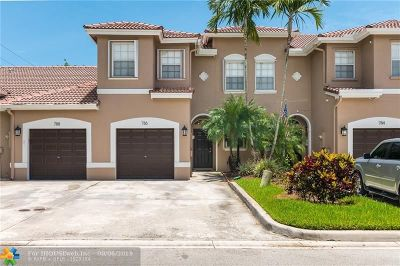 Plantation Condo/Townhouse Backup Contract-Call LA: 786 NW 132nd Ave