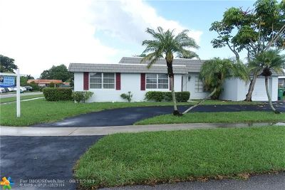 Tamarac Single Family Home For Sale: 8101 NW 73rd Ter