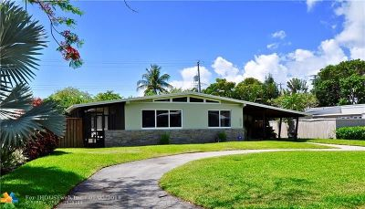Fort Lauderdale Single Family Home For Sale: 2012 NE 29th Ct