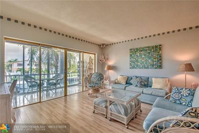 Fort Lauderdale Condo/Townhouse For Sale: 3209 NE 36th St #9B