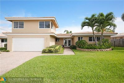 Pompano Beach Single Family Home For Sale: 2519 SE 10th St
