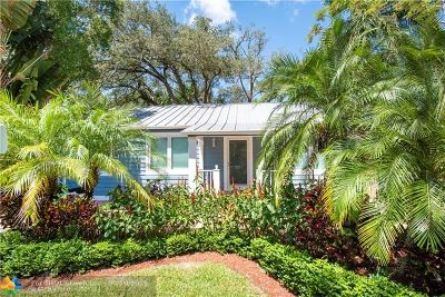 Fort Lauderdale Single Family Home For Sale: 825 SW 4th Court