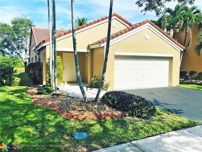 Weston Single Family Home For Sale: 1541 Presidio Dr