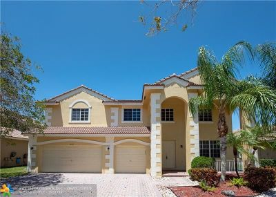 Weston Single Family Home For Sale: 1612 Blue Jay Circle
