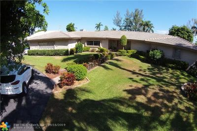 Fort Lauderdale Single Family Home For Sale: 2900 NE 40th St