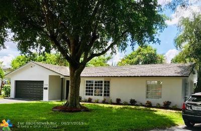 Coral Springs Single Family Home For Sale: 3740 NW 101st Avenue