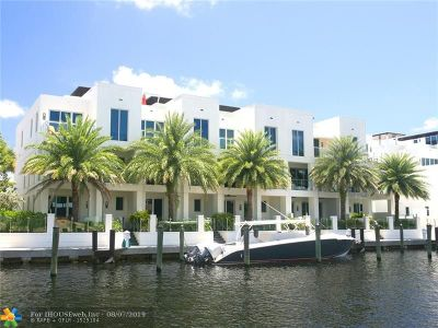 Broward County Condo/Townhouse For Sale: 261 Shore Ct