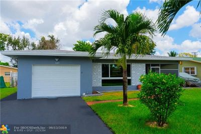 Miramar FL Single Family Home For Sale: $349,900