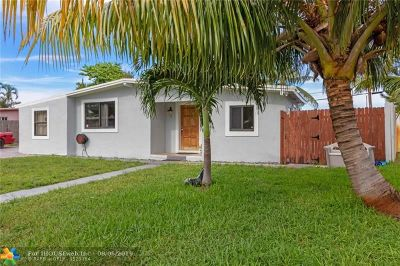 Pompano Beach Single Family Home For Sale: 4010 NE 15th Ter