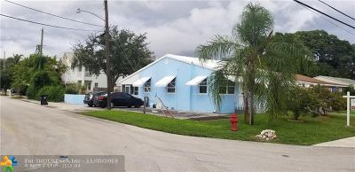 Fort Lauderdale Single Family Home For Sale: 617 SW 9th St
