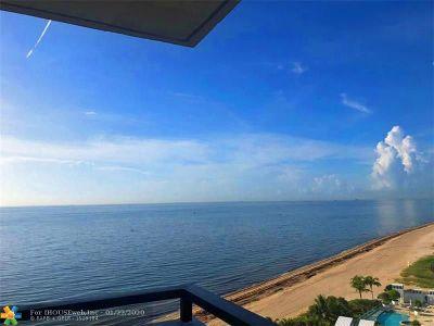 Pompano Beach Condo/Townhouse For Sale: 1500 S Ocean Blvd #1507