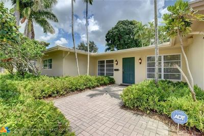 Fort Lauderdale Single Family Home For Sale: 2571 NE 43rd St
