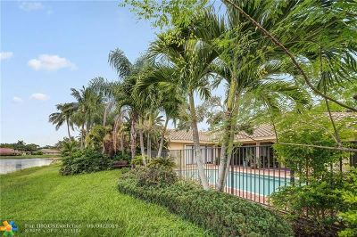 Weston Single Family Home For Sale: 1239 Waterview Ct