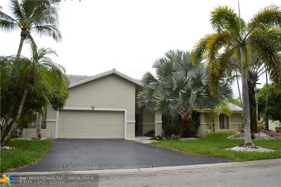 Coral Springs Single Family Home For Sale: 79 SW 114th Ter