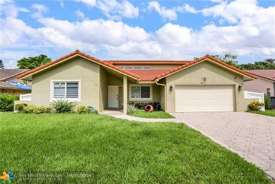 Coral Springs Single Family Home For Sale: 9275 NW 21st St
