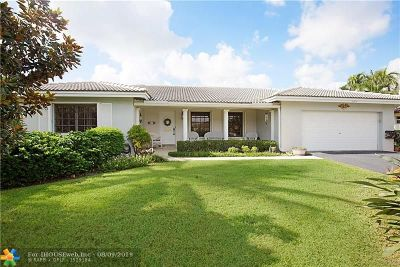 Pompano Beach Single Family Home For Sale: 2910 NE 23rd St