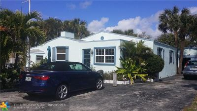 Pompano Beach Multi Family Home For Sale: 3215 Canal Dr