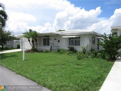 Tamarac Single Family Home For Sale: 6703 NW 72nd St
