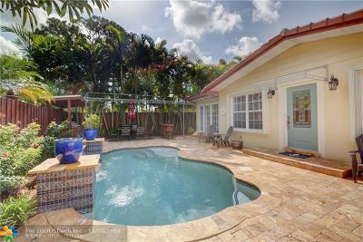 Fort Lauderdale Single Family Home For Sale: 2000 NE 27th St