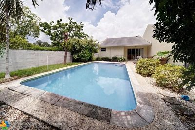 Fort Lauderdale Single Family Home For Sale: 840 SW 12th Pl