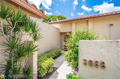 Deerfield Beach Condo/Townhouse Backup Contract-Call LA: 3068 Deer Creek Lake Shore Dr #3