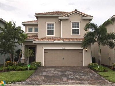 Hollywood Single Family Home For Sale: 4113 Mahogany Ln