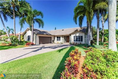 Coral Springs Single Family Home Backup Contract-Call LA: 418 NW 107th Ter