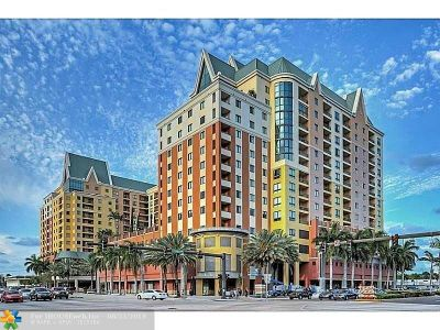 Fort Lauderdale Condo/Townhouse For Sale: 100 N Federal Hwy #930