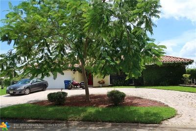 Coral Springs Single Family Home For Sale: 993 NW 82nd Ave