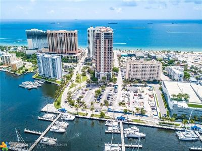 Fort Lauderdale Condo/Townhouse For Sale: 100 S Birch Rd #1901