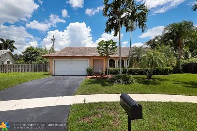Weston Single Family Home For Sale: 409 SW 169th Ter
