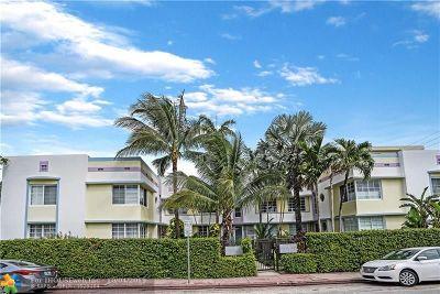 Miami Beach Condo/Townhouse For Sale: 833 10th St #203/9