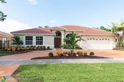 Coconut Creek Single Family Home For Sale: 4163 NW 54th St