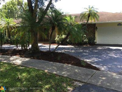 Plantation Single Family Home Backup Contract-Call LA: 1921 SW 52nd Terrace