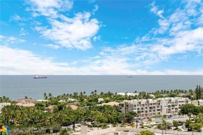 Fort Lauderdale Condo/Townhouse For Sale: 3233 NE 34th St #1710