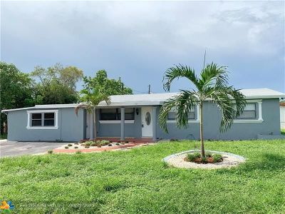 Fort Lauderdale Single Family Home For Sale: 751 SW 30th Ave