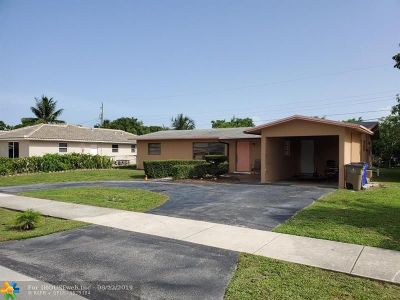 Pompano Beach Single Family Home For Sale: 520 NE 40th St