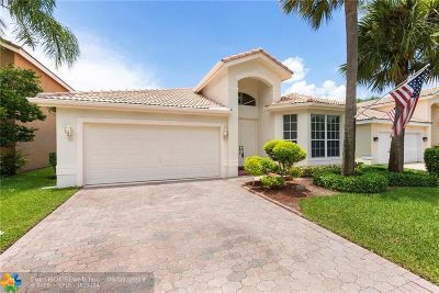 Coral Springs Single Family Home For Sale: 5366 NW 119th Ter