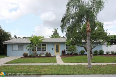Deerfield Single Family Home For Sale: 1109 SE 7th St