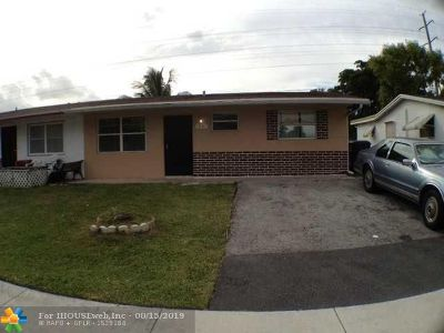 North Lauderdale Single Family Home For Sale: 1981 SW 70th Way