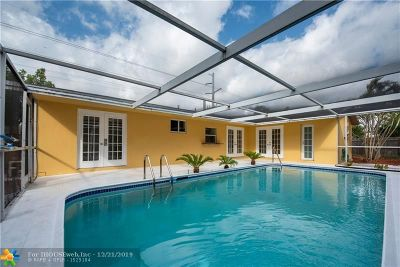 Fort Lauderdale Single Family Home For Sale: 5290 NE 18th Ave