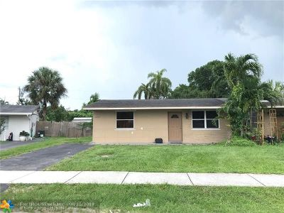 North Lauderdale Single Family Home Backup Contract-Call LA: 6260 SW 20th St