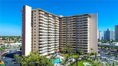 Fort Lauderdale Condo/Townhouse For Sale: 3300 NE 36th St #803