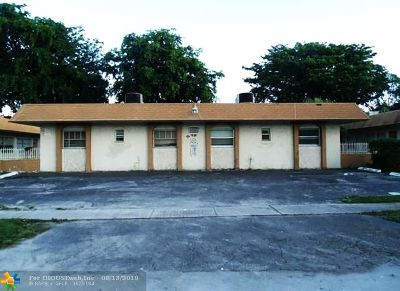 Lauderhill Condo/Townhouse For Sale: 5304 NW 25th St #17