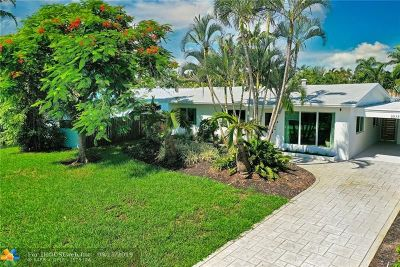 Wilton Manors Single Family Home For Sale: 2837 NE 18th Ave